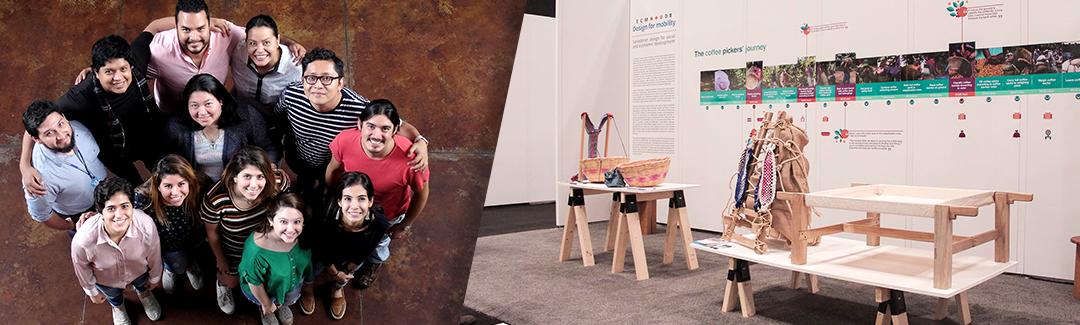 DISEÑO PARA LA MOVILIDAD: Un proyecto que se exhibe en la ICFF en New York. Categoría: Universidades.
