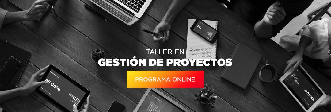 TALLER DE FORMULACIÓN Y EVALUACIÓN DE PROYECTOS