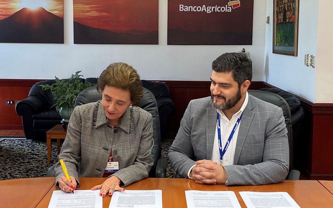 ECMH y Banco Agrícola firman convenio de cooperación.