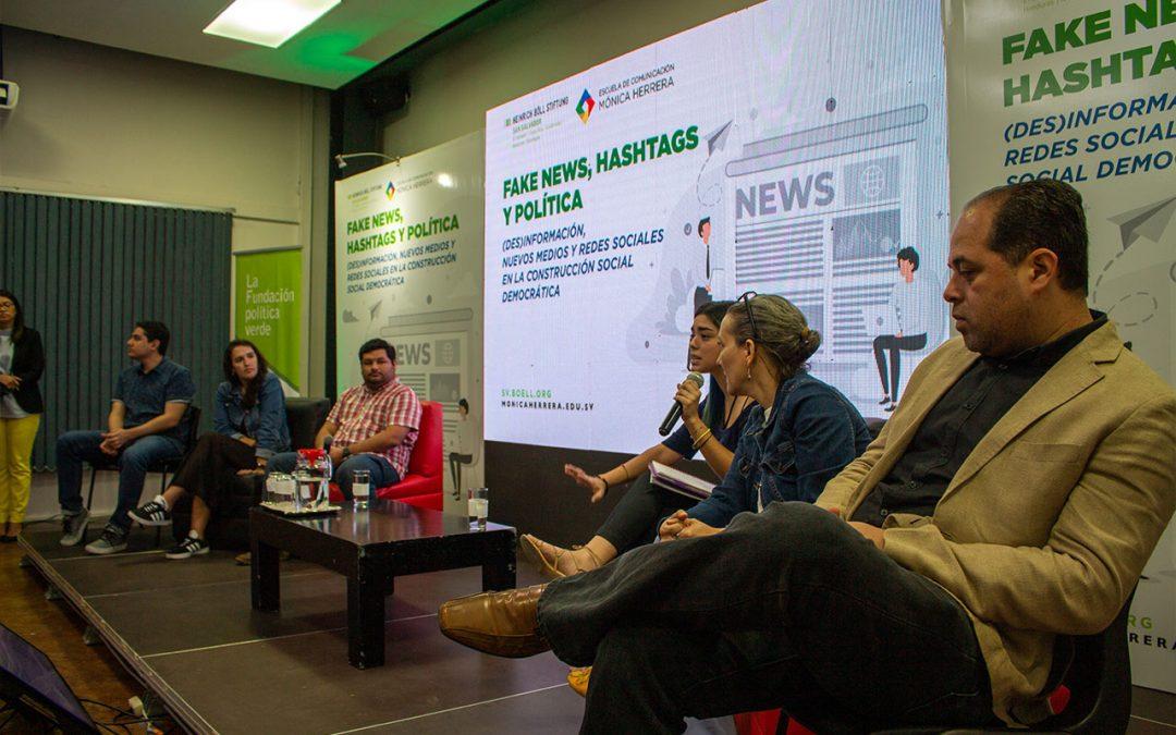Realizan foro: Fake News, hashtags y política