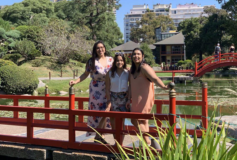 Alumnas de intercambio en Argentina