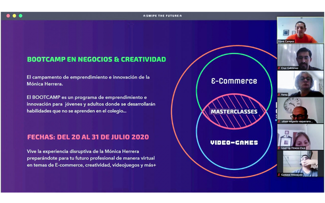 Así se vivió el inicio del Bootcamp de Negocios y Creatividad: Swipe The Future
