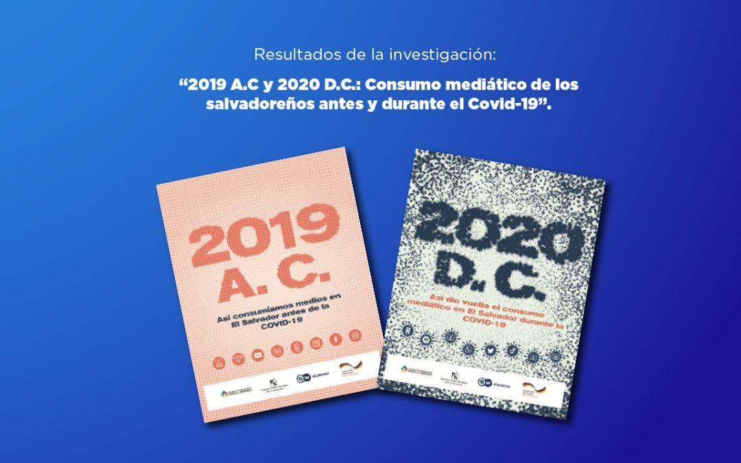 Presentan estudio sobre consumo mediático salvadoreño antes y durante la Covid-19