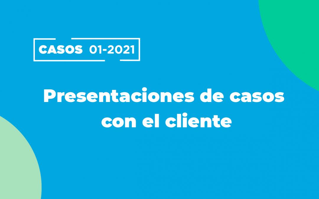 CASOS 2021: Alumnos presentaron sus propuestas de solución a los clientes
