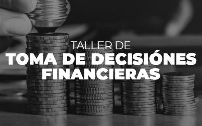 TALLER DE TOMA DE DECISIONES FINANCIERAS