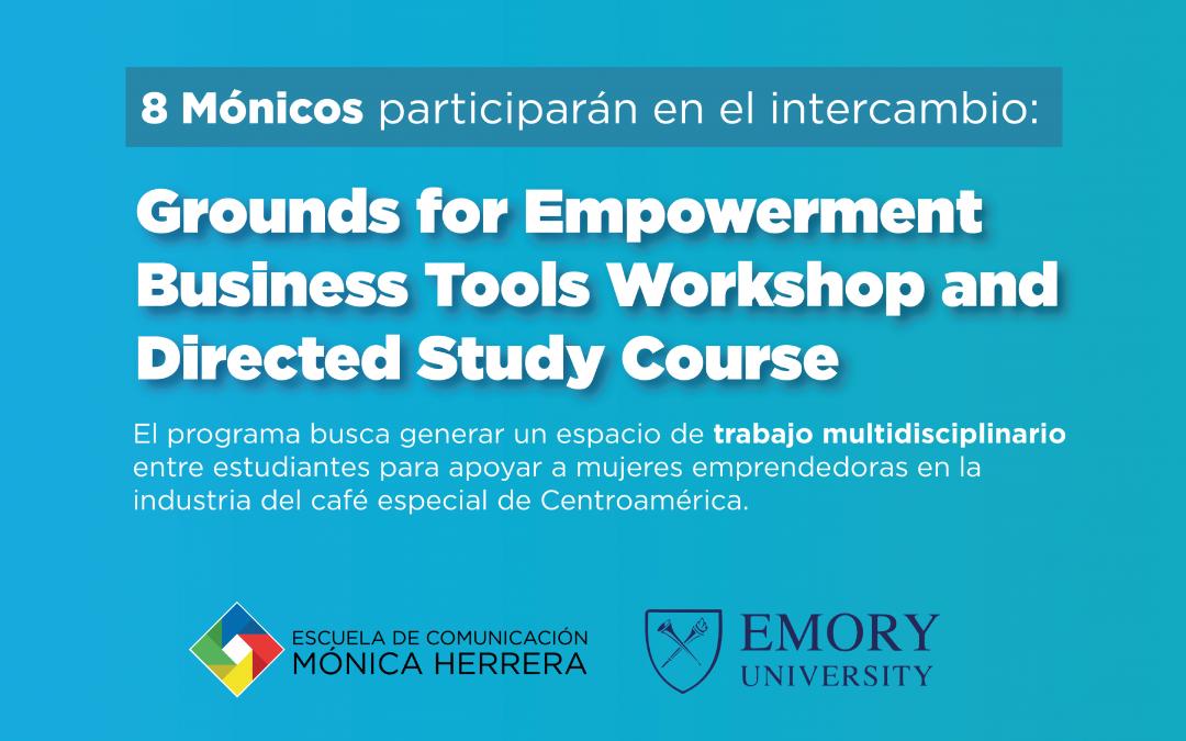 8 estudiantes serán parte del intercambio virtual Grounds For Empowerment